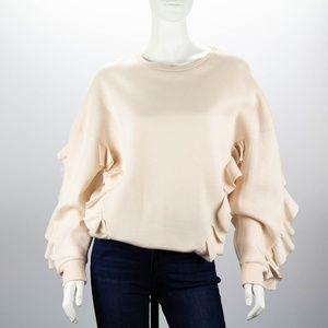 STELLA McCARTNEY Ruffle Sweater